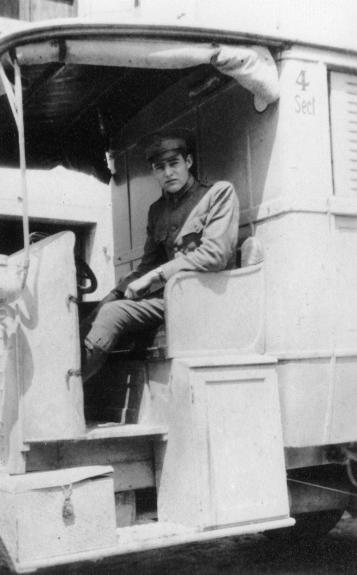 Hemingway Ambulance Driver